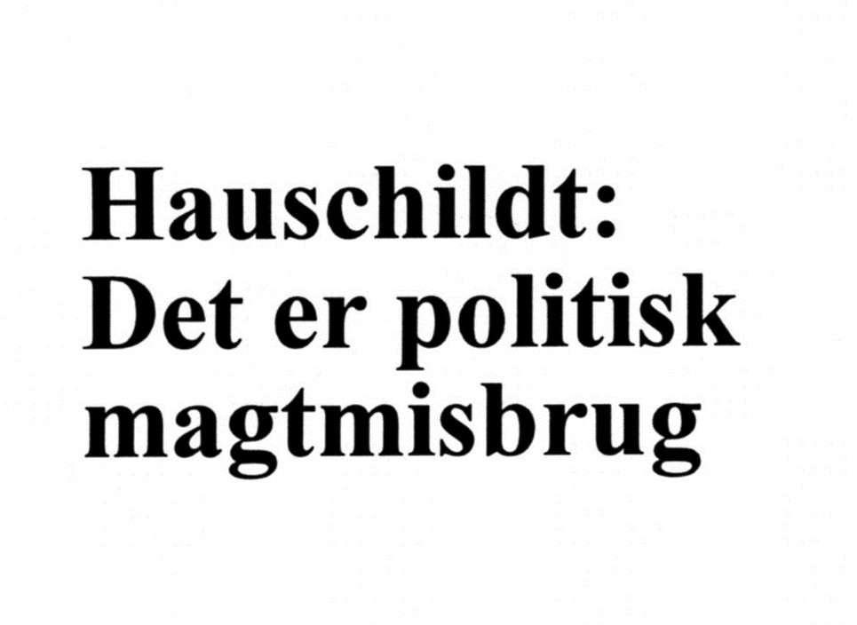 Hauschildt_Bagmandspolitiet_total_foragt