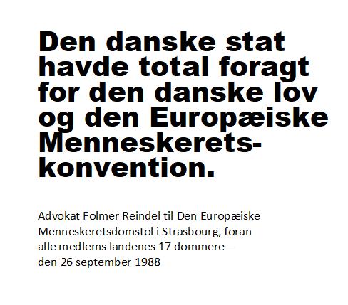 ECHR Statement