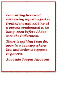Advocate Jørgen Jacobsen - Picture Finn Meilby Statsadvokat- Danish Injustice-Advokat Folmer Reindel-Mogens Hauschildt claim millions in