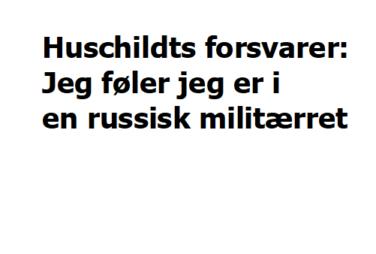 Bagmandspoliet closes Scandinavian Capital Exchange - Danish miscarriage of justice Mogens Hauschildt is innocent-Advokat Folmer Reindel