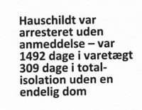 Picture Christen Amby was arrested in 1969, an agent from Stasi-Danish Injustice-Mogens Hauschildt demand millions in compensation