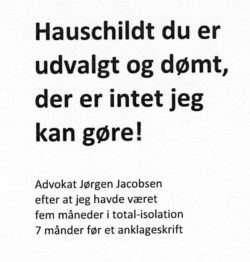 Byretsdommer Claus Larsen-Mogens Hauschildt – The Danish miscarriage of justice