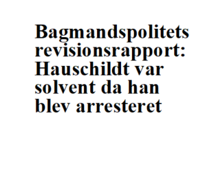 Statsadvokat Finn Meilby-Bagmandspoliet closes Scandinavian Capital Exchange - Danish miscarriage of justice - Mogens Hauschildt is innocent-Advokat Folmer Reindel and Advokat John Korsø-Jensen