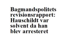 Statsadvokat Finn Meilby-Bagmandspoliet closes Scandinavian Capital Exchange - Danish miscarriage of justice - Mogens Hauschildt is innocent-Advokat Folmer Reindel and Advokat John Korsø-Jensen