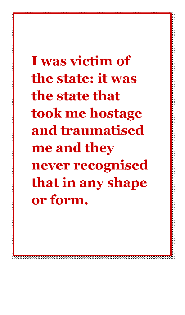 Victim of the state