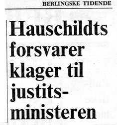 Billed Dommer Claus Larsen-Mogens Hauschildt – The Danish miscarriage of justice