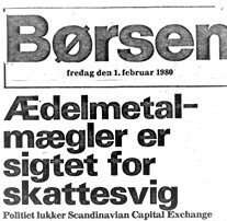 Bullion dealer accused of tax evasion the special prosecution closes Scandinavian Capital Exchange - Danish Injustice