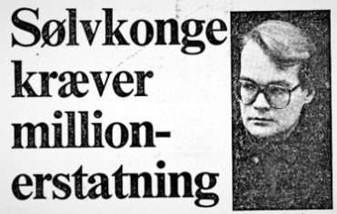 The Silver King Mogens Hauschildt demand tens of millions of compensation from Denmark - Danish Injustice