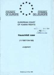 The most serious judgement against Denmark Hauschildt big win against Denmark for their injustice - Danish Injustice